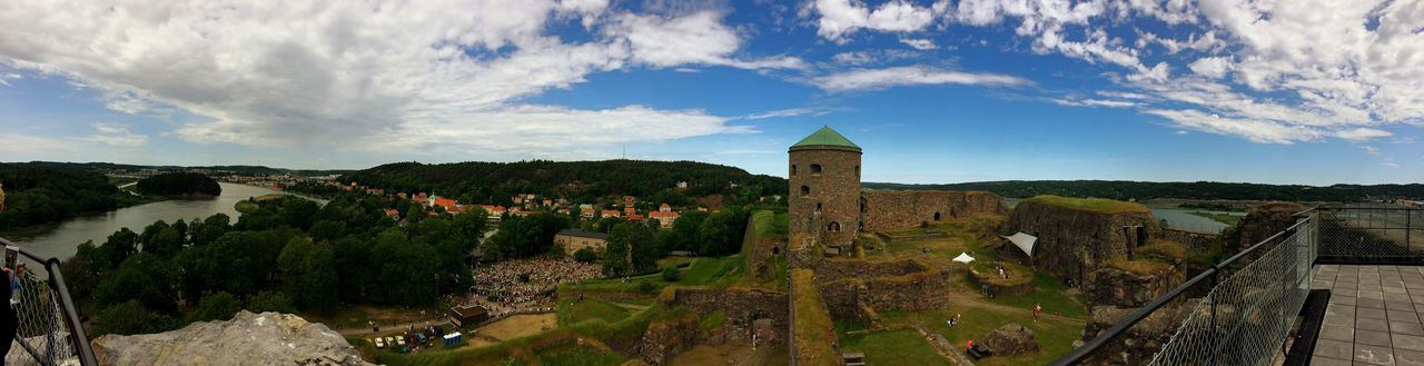 Panorama Bohus Fortress The Essence Of Summer The Past Bohus Fästning