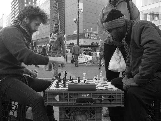 I Heart New York NYC Manhattan Unionsquare Chess Panasonic  Lumixgx7 Allysdms NYC Photography Streetphotography