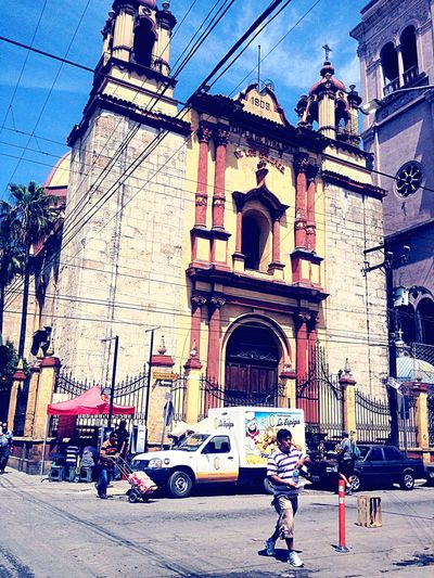 Church Arquitecture Mexico Traveling City
