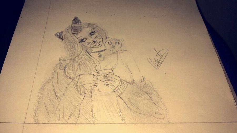 Coffee Drawing ✏ Prescilia✨