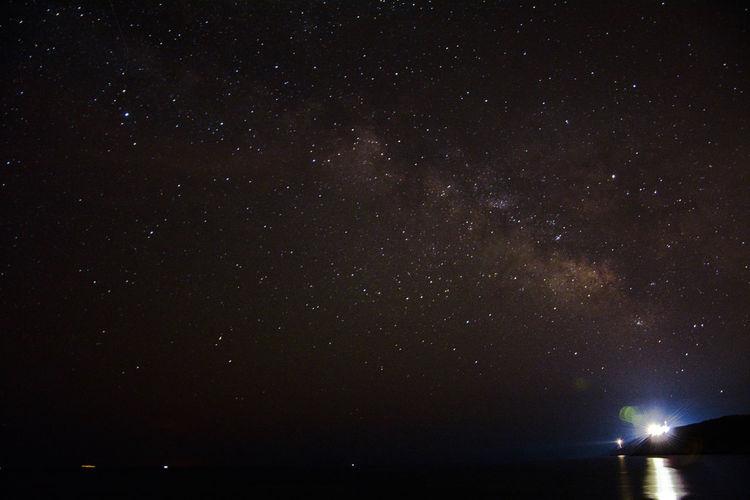 Astronomy Faro Palascia Mare Nature Night Notte Otranto Palascia Sea Sky Stelle  Via Lattea