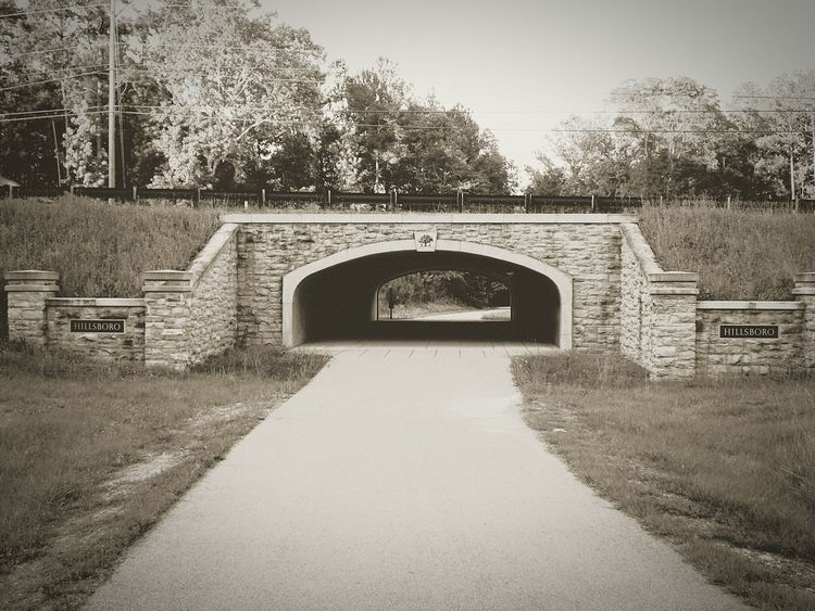 Haunted trail in Helena Alabama Tree Architecture Bridge - Man Made Structure Outdoors Arch Hiking Hikingadventures Amazing Nature Blackandwhite Blackandwhitephotography Bw Bwphotography Street Landscape Landscapephotography Streetphotography Urbanphotography Urban Haunted Explore Beautiful Shellbackphotography Amazing Beauty In Nature Nature
