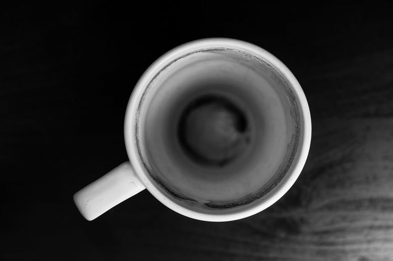 very bad situation ☹️ EyeEm Gallery EyeEm Best Shots My Best Photo EyeEm Selects Drink Cup Refreshment Food And Drink Directly Above Indoors  Still Life Mug Close-up Coffee Table No People Coffee Cup Coffee - Drink High Angle View Studio Shot Freshness Circle Shape Black Background