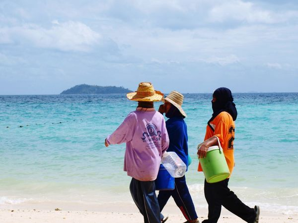 Thailand Peoplephotography Travel Photography Beach Photography Colected Comunity