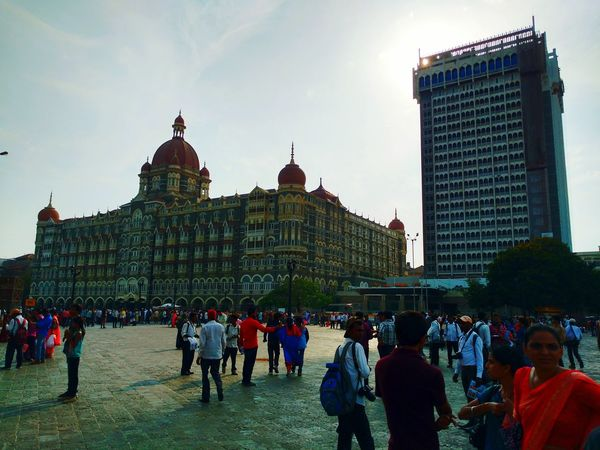 Taj Hotel Mumbai Oberoi_hotel After 26/11/2008 .... Nice Day Nice Atmosphere Nice Place.... Loved It ♥` The Architect - 2016 EyeEm Awards Neighborhood Map Colaba Mumbai