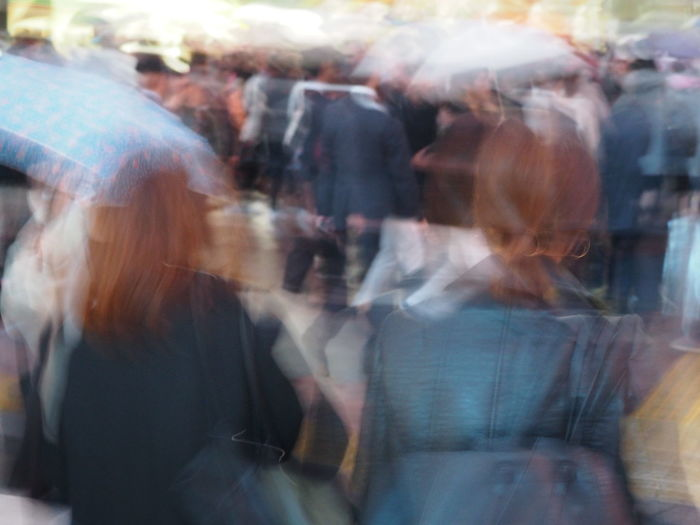 Adult Blurred Motion City Life Crowd Day Large Group Of People Loosing It Men Mouvement Outdoors Overwhelmed People Real People Women