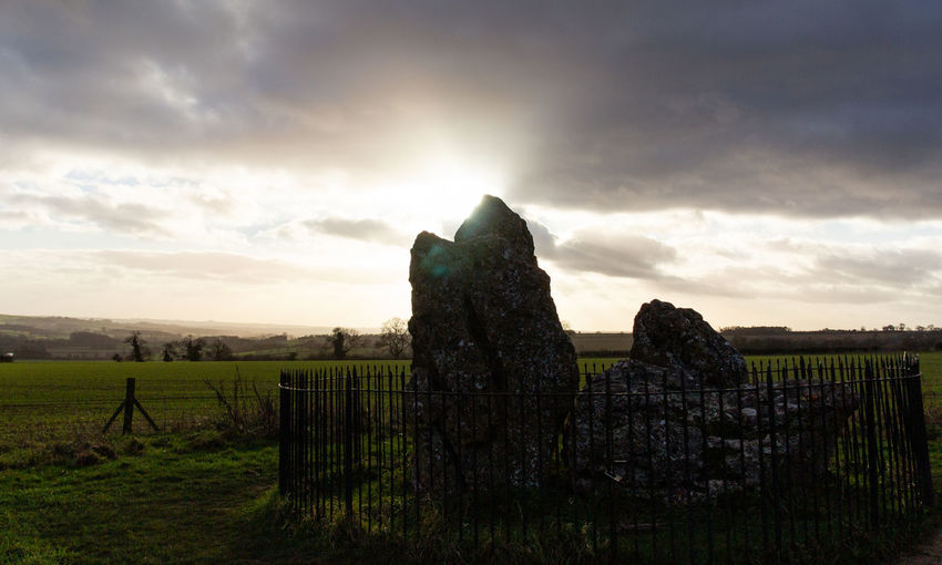 Cloud - Sky Tranquil Scene Beauty In Nature No People The Past Outdoors Landscape Neolithic Stones Winter Solstice