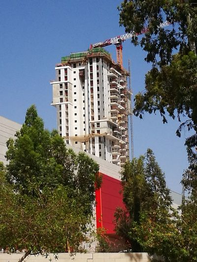 Beer-sheva Israel Crane - Construction Machinery Architecture Building Exterior Built Structure