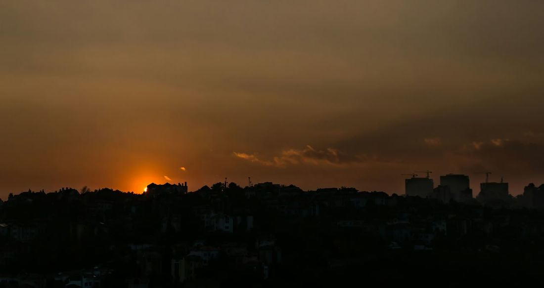 Sunset Building Landscape Sunset_collection Bahcesehir Sun Istanbuldayasam Turkey Istanbul
