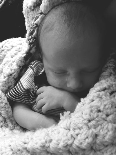 My world, My heart, My Soul Black And White Photography Black And White Gifts From God In Love My Baby Boy Love Babyhood Indoors  Childhood Newborn Close-up First Eyeem Photo