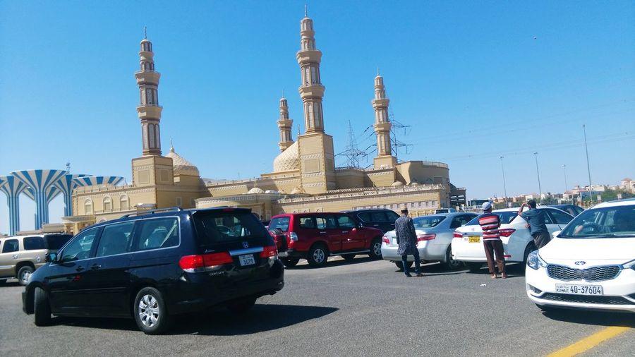 Kuwait Mohammed Abdullah Road Car Traffic Traffic Jam Sky First Eyeem Photo