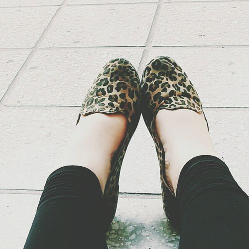 Flats Relaxing Animalprint