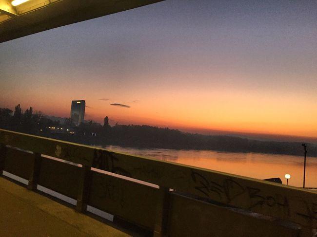 Bratislava, Slovakia Incheba Mostsnp Most Snp Danube Danube River Dunaj