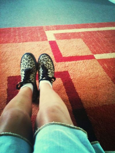 These Shoes My Shoes Leopard