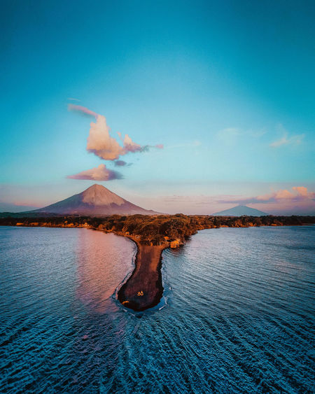 Travel Travel Destinations Travel Photography Nature Nature_collection Nature Photography Photographer Wanderlust Sunset_collection Water Island Drone  Dronephotography Volcano Nicaragua Sky Blue Blue Sky Sunset Photography Adventure Cloud - Sky Cloud Aerial View Aerial Shot Aerial Photography Dji Earth Canon Photo