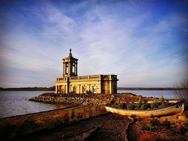 Normanton Church, Rutland Normanton Normanton Church Rutland Rutland Water Travel Travel Destinations Tourism Tranquility Outdoors Sky Architecture Water Day EyEmNewHere Church Religion Boat Summer Exploratorium