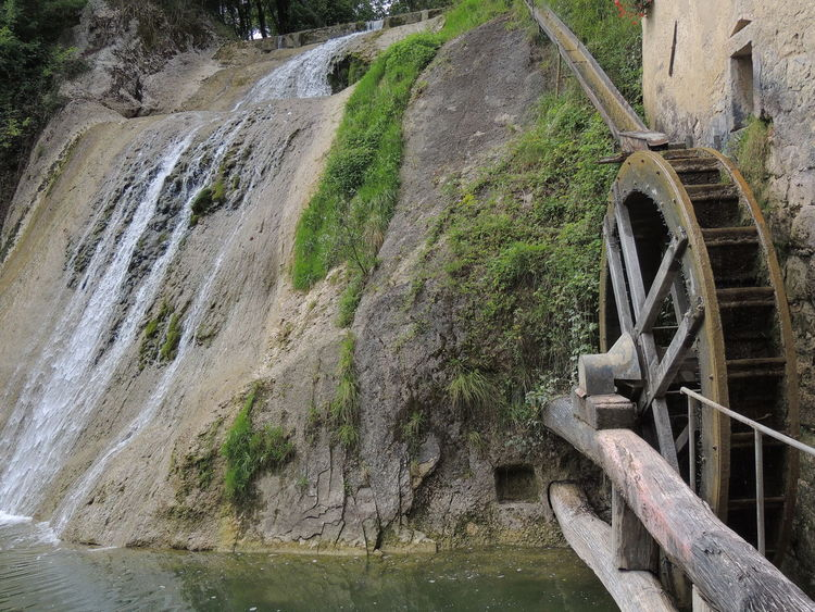 Molinetto Della Croda Alternative Energy Architecture Beauty In Nature Bridge - Man Made Structure Built Structure Day Hydroelectric Power Irrigation Equipment Nature No People Outdoors River Scenics Water Water Wheel Watermill Watermills