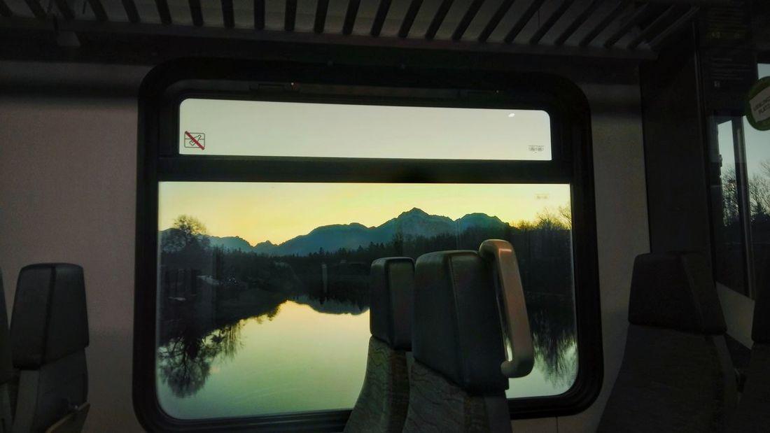 GRENZ-FLUSS Im Vorbeifahren Borderline Saalach Grenzfluss OutDoorView Windowsnap Windoorsnapping