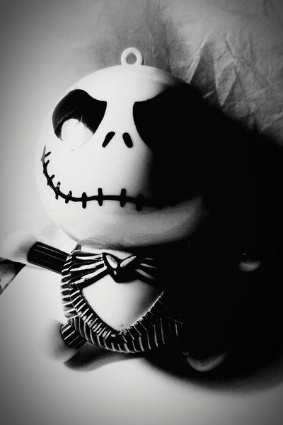 Jackskeleton TheNightmareBeforeChristmas Love ♥ Gifts ❤ Friends Keyrings Timburton My Passion Blackandwhite