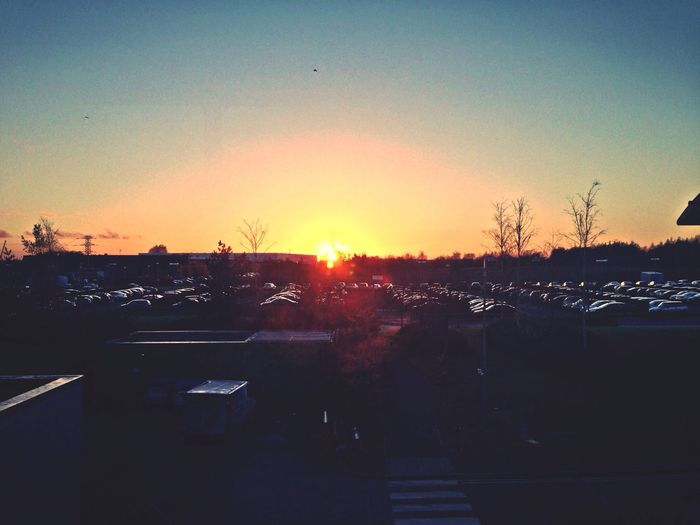 Sunset Sun_collection Skyporn Carparks