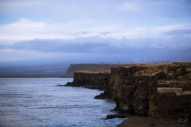 South Point, Big Island, Hawaii. 🌊🌴 South Point Big Island Big Island Hawaii Hawaii Pacific Ocean Tranquility Nature Sea Rock Formation Sky Water Cliff Outdoors No People Idyllic EyeEmNewHere Hawaii Life Shore Eyemphotography Hawaiishots Hawaiian Nature Miles Away