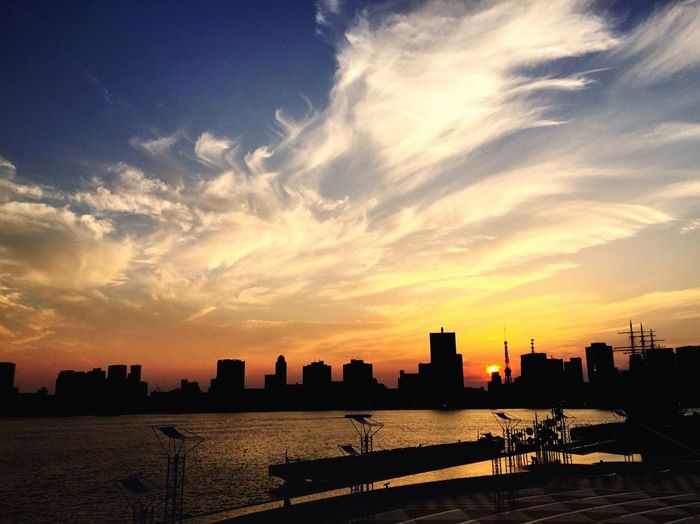 Sunset Sunny Day Clouds Sky Tokyo Beautiful Day Showcase June