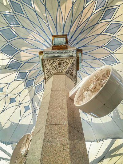 Madinah Saudi Arabia Nabawi Mosque Umbrella Travel