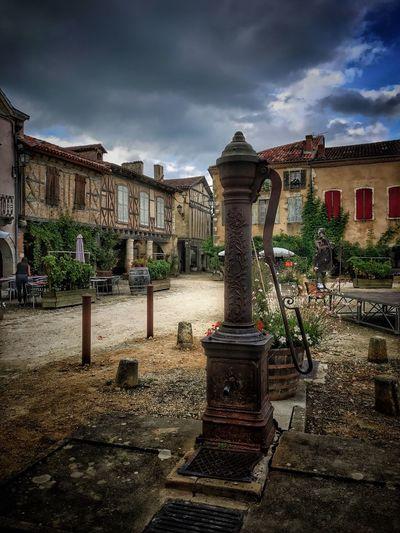 Fountain Little Charming Village Bastide
