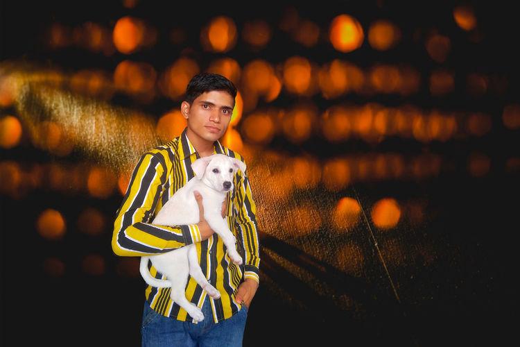 One Person One Animal Pets Dog Sweetie Puppy Lovely Pretty Labrador Beautiful Photo Princess Model Chetan Choudhary Jodhpur