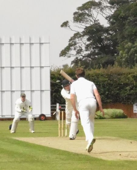 Bowled him! Cricketers