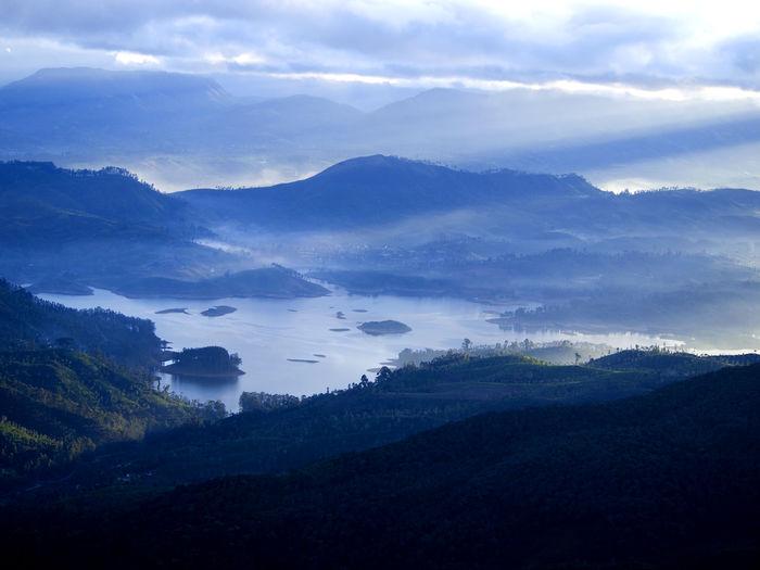 Scenic landscape in sri lanka