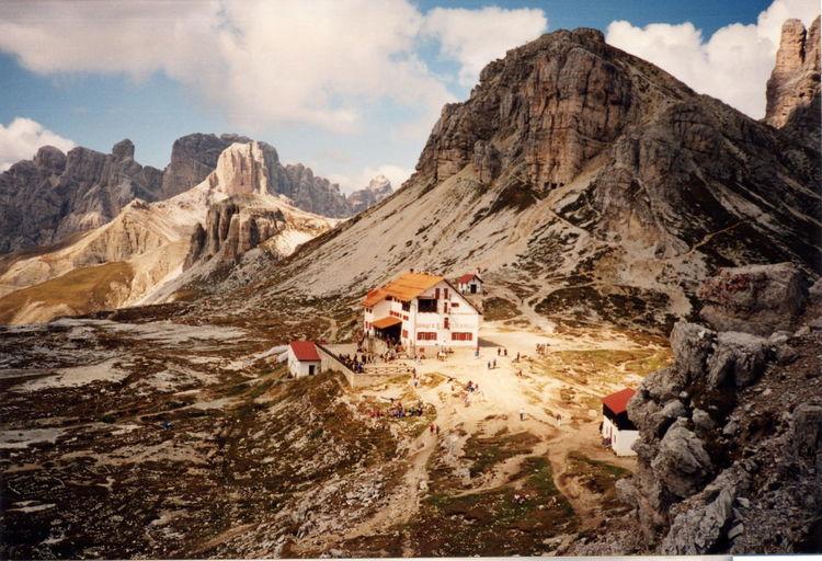 Cortina Mountains Cortina D'Ampezzo Tre Cime Di Lavaredo Beauty In Nature Cime Di Lavaredo Cloud - Sky Cortinadampezzo Lavaredo Mountain Mountain Range Nature Outdoors Rock Scenics - Nature Sky