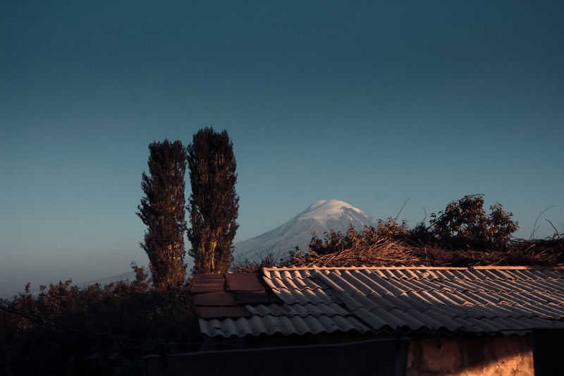 Day Hill Landscape Nature No People Outdoors Sky Tree Ararat Mountain🗻🗻 Ararat  Ararat Mountain Lost In The Landscape