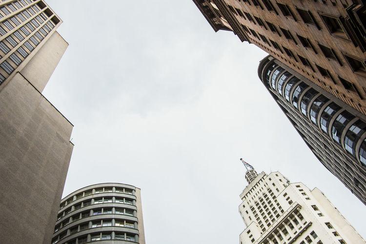 Banespa Building Architecture Banespa Building Edifício Banespa International Landmark Low Angle View São Paulo