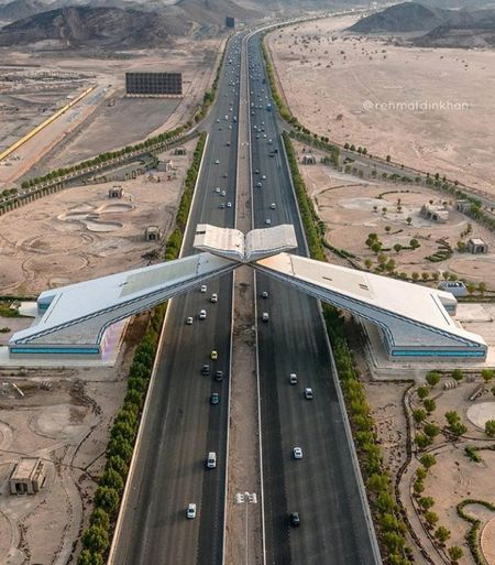 Arab roads.. Politics And Government Road Aerial View Business Finance And Industry Sand Airplane High Angle View Aerospace Industry Landscape Travel Highway