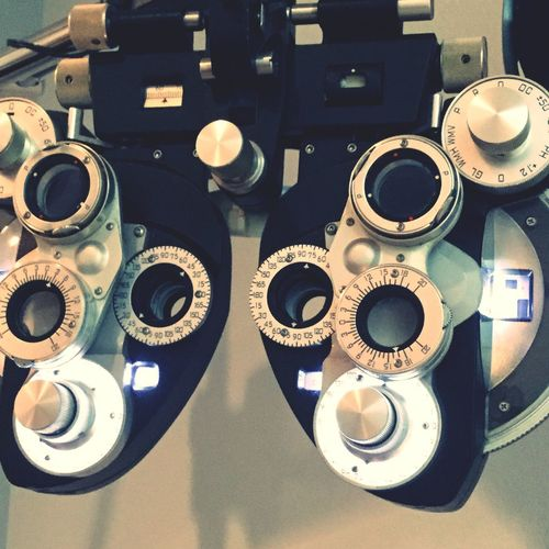 Technology No People Indoors  Close-up Gear Day Eye Test Equipment Optometrist Eyesight EyeEm Best Shots Contacts Doctor
