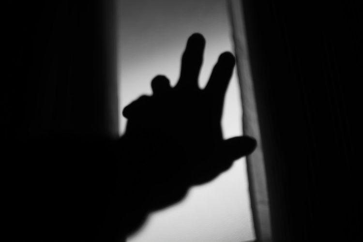 It's so far to exit. Fujifilm Lost Souls  Canon 35mm F1.8 L Japan Monochrome_life Black & White EyeEm Best Shots - Black + White Black And White Collection  X-Pro1 Vintage Lens Black And White Black And White Photography My Photography Vintage Lenses Eyeem Black And White Fujifilm X-Pro1 Hand Hands My Hand  My Hands Exit So Far, So Close So Far Lights Light And Shadow
