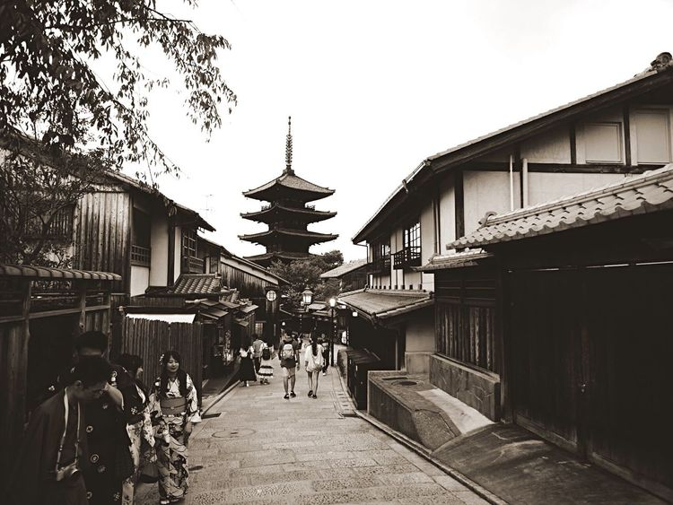 Kyoto Japan Higashiyama Yasaka-no-to Old-fashioned Olympus PEN-F 京都 日本 東山 八坂の塔