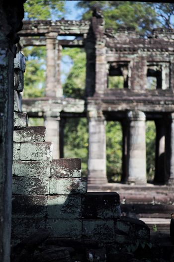Old Ruin History Abandoned Damaged Ancient The Past Focus On Foreground Day Architecture Built Structure Ancient Civilization Weathered No People Bad Condition Architectural Column Outdoors Building Exterior