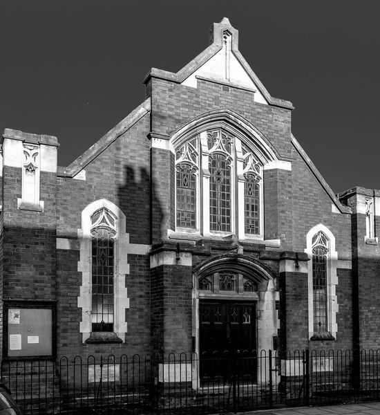 Church, &Euston Road, Far Cotton, Northampton Black And White Architecture Northampton Chuches
