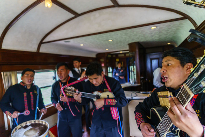 Altitude America Anden Cocktails Cusco Dancer Express High Historical Sights International Landmark La Raya Haircut Lama Music Old People Peru Peru Rail Puno Rail South Traditional Train Train Tracks Travel