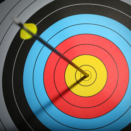 Bull's eye !! Sports Target Sport Multi Colored Circle Archery Achievement Geometric Shape Success Arrow - Bow And Arrow Aiming Accuracy Target Shooting Shape No People Indoors  Aspirations Sports Equipment Challenge Close-up Skill  Arrow Bull's Eye Center Focus Goal Goal Setting Winner Successful Practice Close Up Inspiration