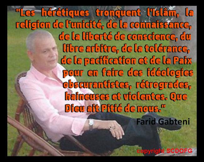 Connaissance Conscience Coran Farid Gabteni Islam Obscurantisme Painting Quran