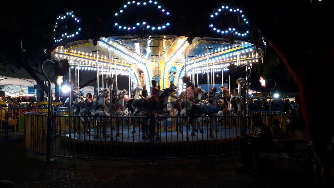 Arts Culture And Entertainment Amusement Park Nightlife Amusement Park Ride People Carousel Outdoors Eyeemphotography