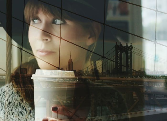Self Portrait Around The World EyeEm Best Shots EyeEm Gallery EyeEm Best Edits Double Exposure I Heart New York Portrait Multiple Layers Light And Reflection