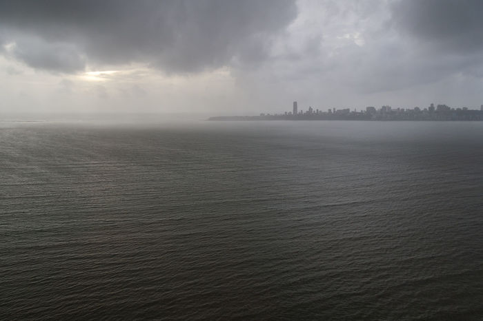 Mumbai 14 Cityscape Cloudy Sky Maharashtra Panoramic View Skyline Urban Exploration Urbanscape Arabian Sea Bombay Elevated View Fog High Angle View Horizon Over Water Outdoors Place To Visit Scenic View Street Photography Sunset Tourism Tourist Destination Tranquil Scene Travel Destination View From Above Viewpoint Waterfront