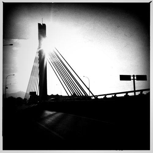 Pasopati Bridge at Bandung West Java Indonesia