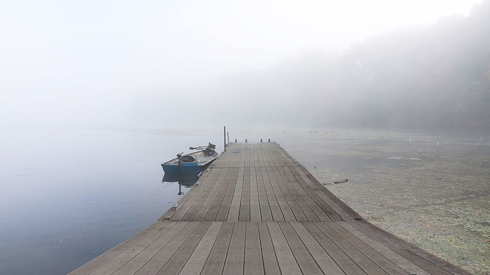 Foggy Morning at Wappinger Lake Here Belongs To Me Fog Foggy Morning