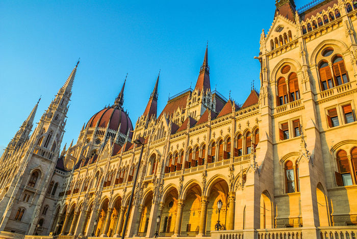 Architecture Blue Building Exterior Built Structure Cathedral Church City Clear Sky Façade Famous Place History Low Angle View Parliament Parliament Building Place Of Worship Religion Spirituality Tourism Travel Travel Destinations