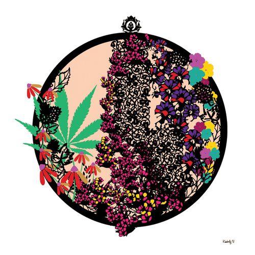 Some of my stamp art Art Art & Marijuana Stampart My Artwork